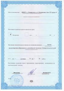 лицензия оборот